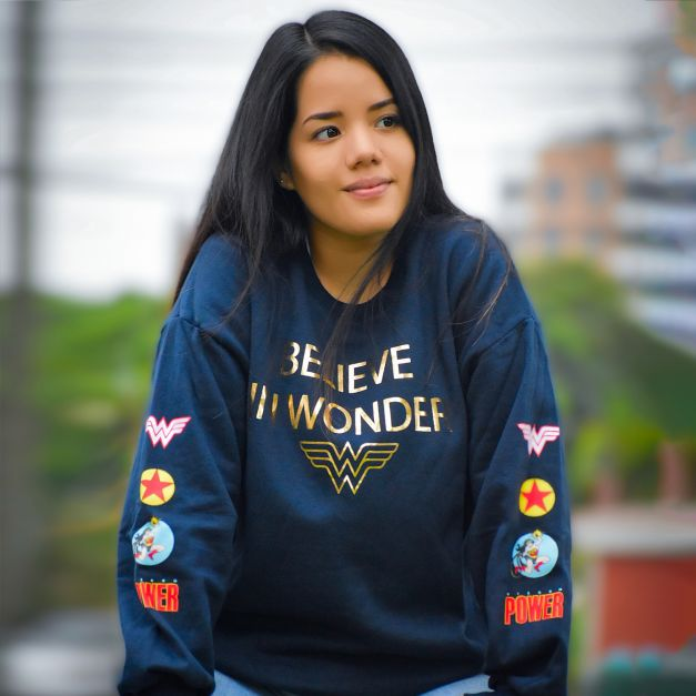 POLERA WONDER WOMAN ®
