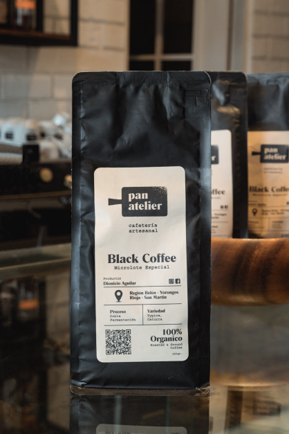 CAFÉ PAN ATELIER BLACK COFFE 250GR.