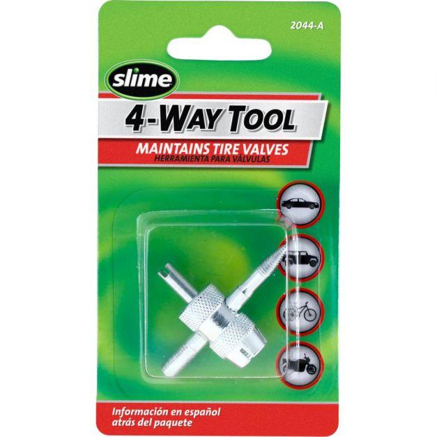 Extractor múltiple para válvula de aire 4 way tool