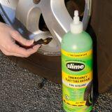 Sellador Slime Pro para llantas sin cámara Safe Tpms liquido 24 Oz