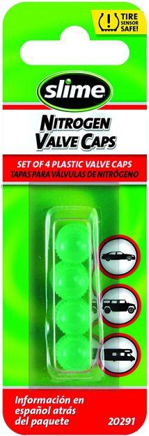 Tapas de plástico para válvulas  con aire de nitrógeno
