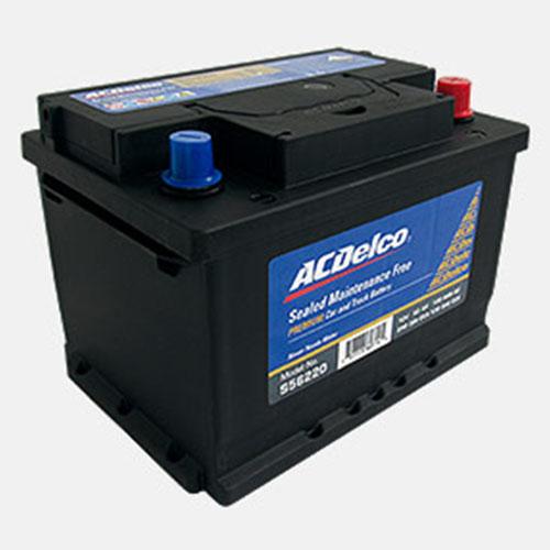 Batería Ac Delco para auto de 13 placas S56820