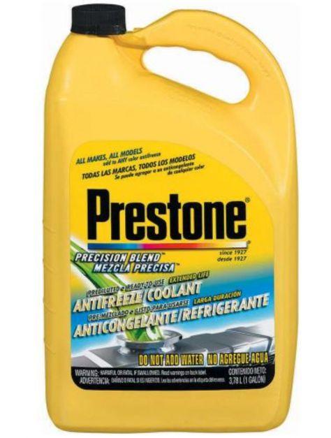 Refrigerante anticongelante Prestone al 33% verde AF2033 1 Gl