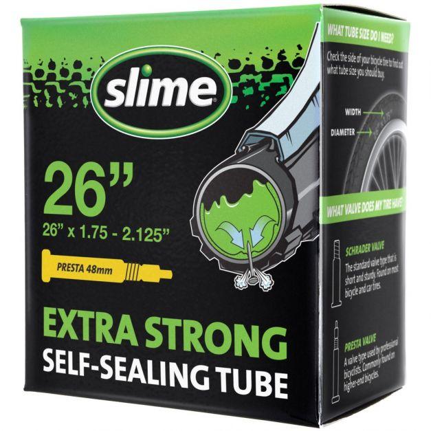 Camara pre tratada Slime p/ llantas 26