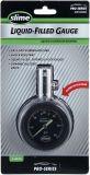 Medidor de presión analógico con líquido y válvula de purga dinámica Serie Pro 5- 60 psi