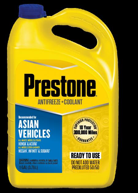 Refrigerante anticongelante Prestone Honda/Nissan 50/50 azul AF6300/F 1 Gl