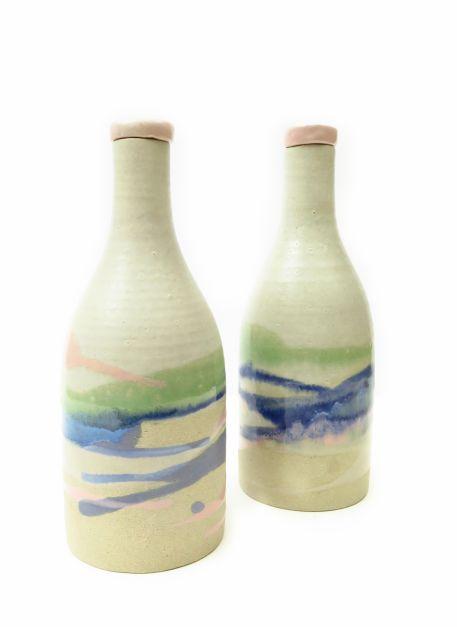 Botella de cerámica