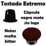 Bolsa de 100 cápsulas regulares. Tostado extremo. Compatible con Nespresso ®.