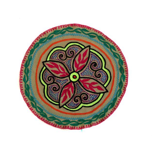 Tapete corazón de ayahuasca