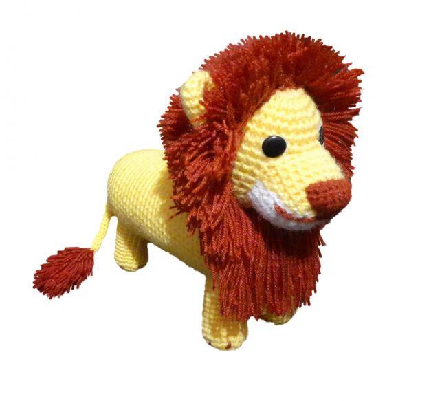 Peluche de león