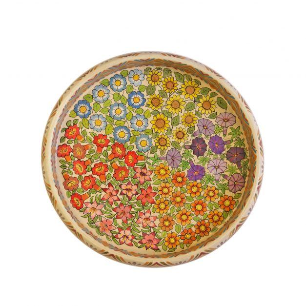 Bandeja de Flores I Tabla de Sarhua