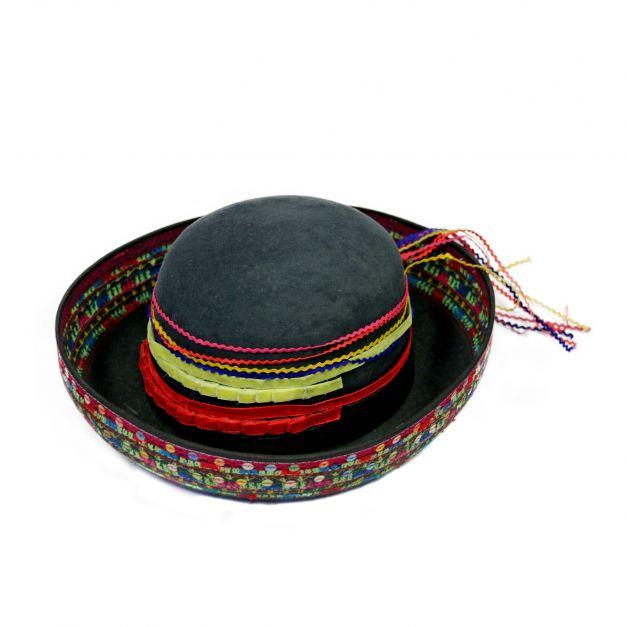 Sombrero gris de Sarhua