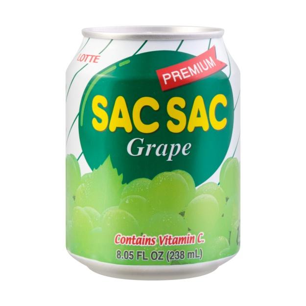 SAC SAC jugo de uva 238ML