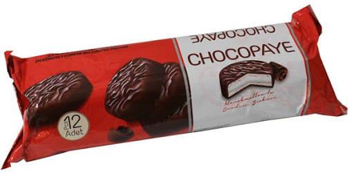 chocopaye de marshmallow 216gr