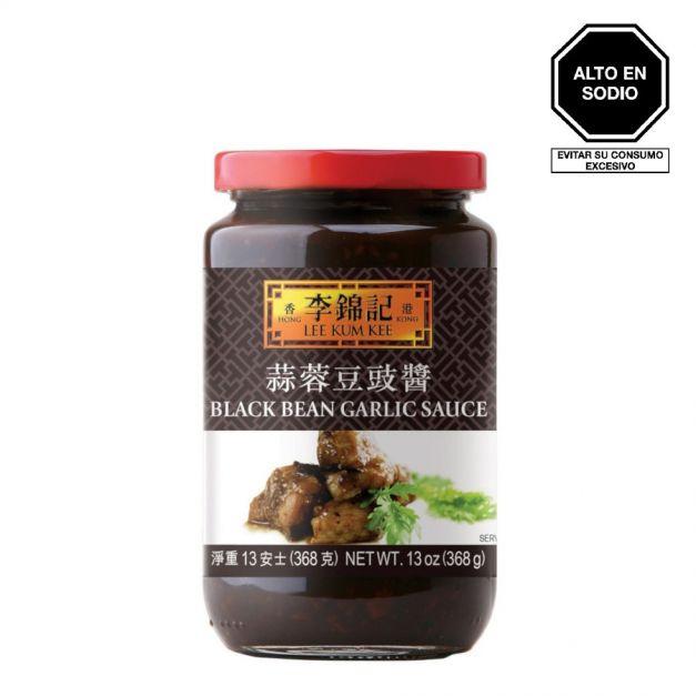 Salsa de Frijol Negro con Ajo 368g