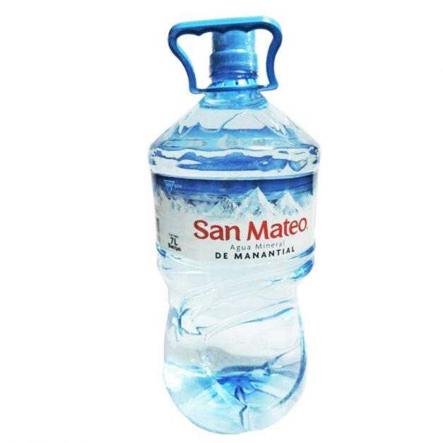 Agua Mineral SAN MATEO sin Gas Bidón 7L