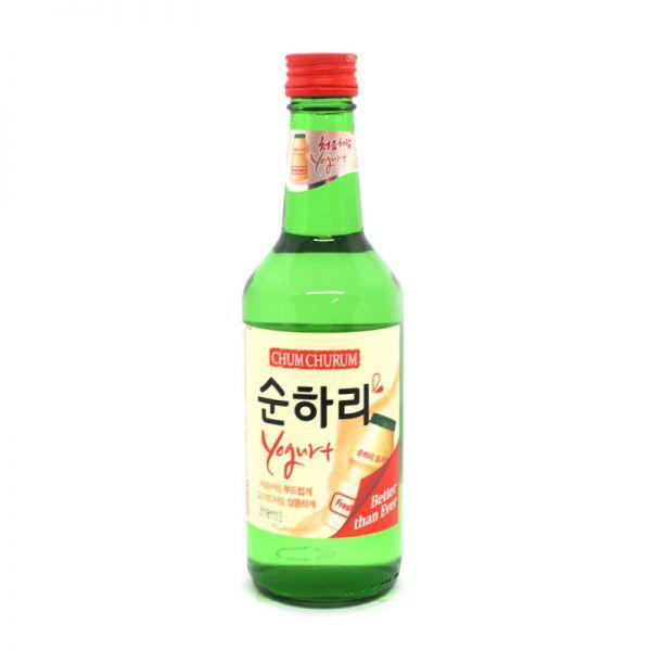 chum churum soju sabor a yogurt 360ml