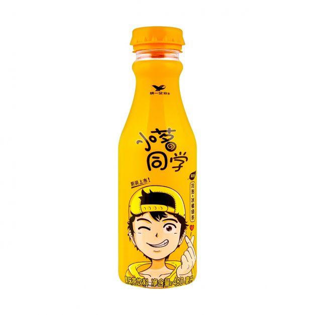 BEBIDA DE KUMQUAT GREEN TEA DRINK UNIF 480ML