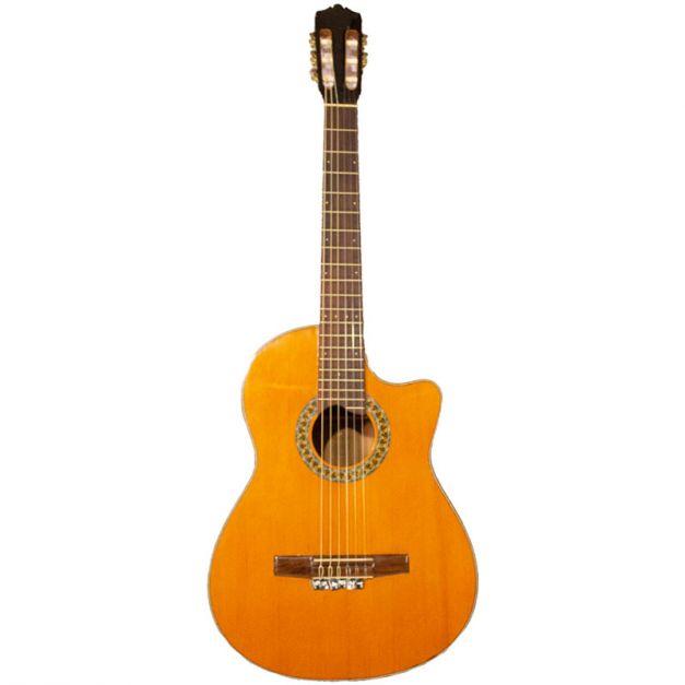Guitarra clasica electroácustica