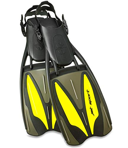Aletas Scubapro Jet Sport Amarillas