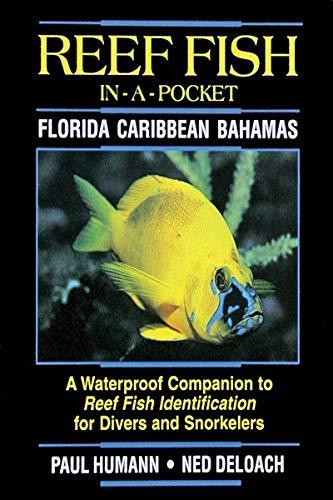 Guía de bolsillo Reef FIsh ID Florida - Caribbean - Bahamas de Paul Humann