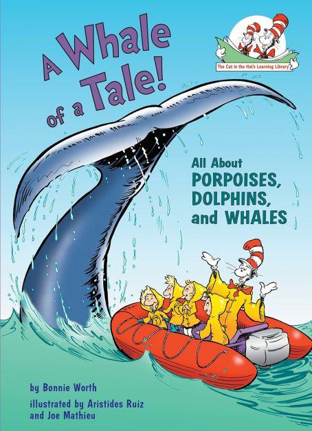 Libro para niños A Whale of a Tale de Dr. Seuss