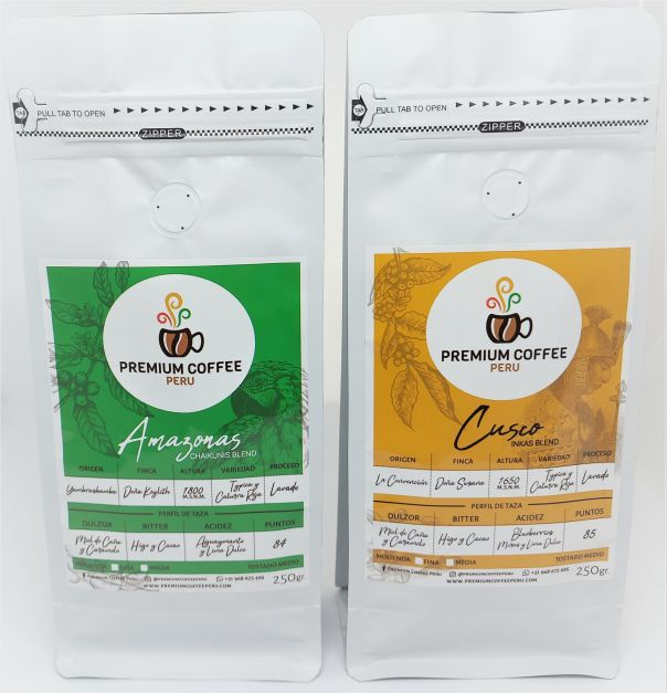 Pack Coffee Lover Amazonas y Cusco - Molienda Media