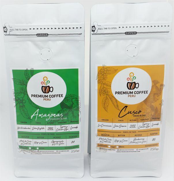 Pack Coffee Lover Amazonas y Cusco - En Grano