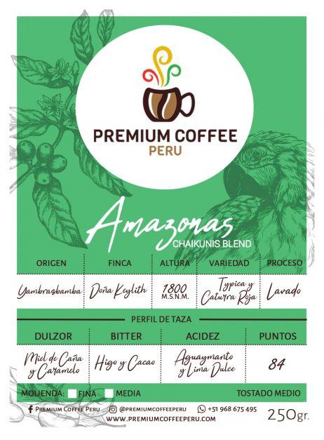 Café Amazonas - En Grano