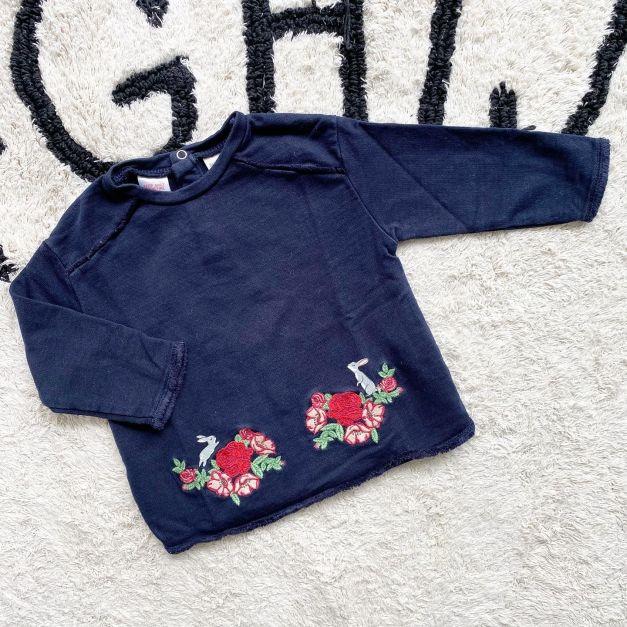 Polera Zara Niña 6-9 meses