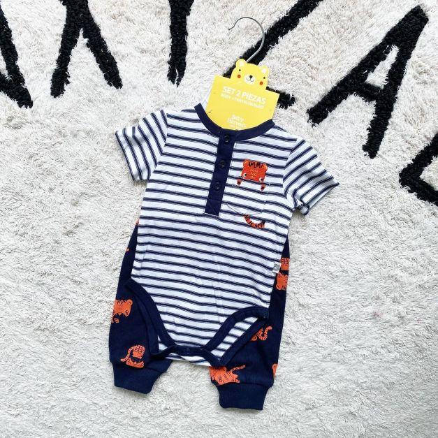 Conjunto Baby Harvest Niño 0-3 meses NUEVO