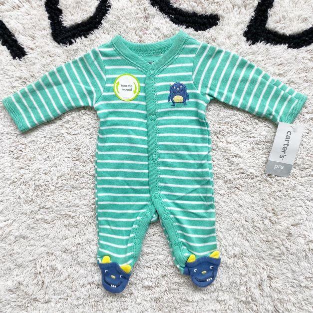 Pijama Carter's Niño Prematuro NUEVO