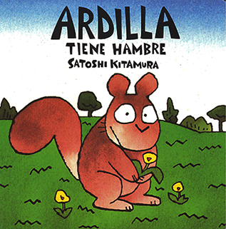 Ardilla tiene hambre