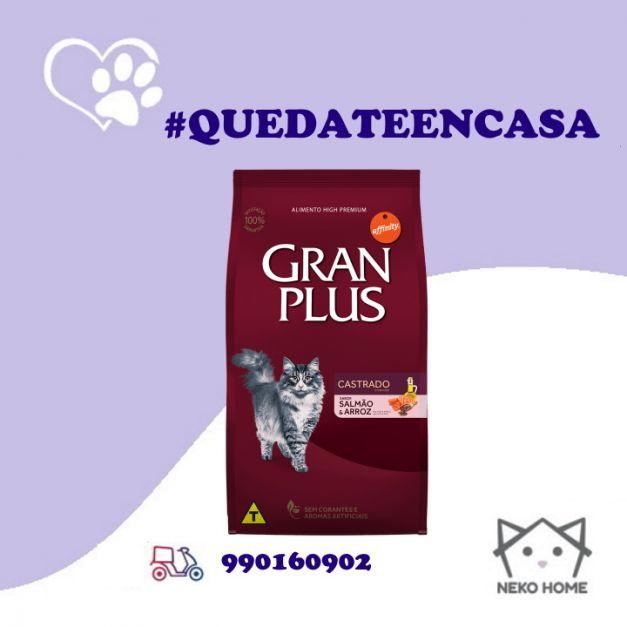 Gran Plus Gato Castrado Salmón & Arroz
