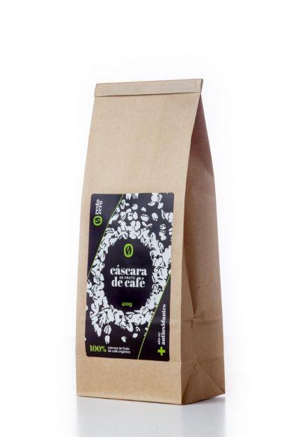 Cáscara de fruto de café 400gr