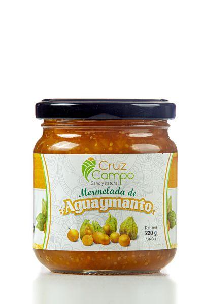 Mermelada de Aguaymanto CRUZ CAMPO 220gr