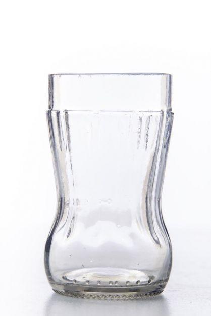 Set 2 vasos de botella de Coca Cola