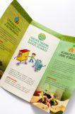 Trípticos de Papel reciclado industrial certificado
