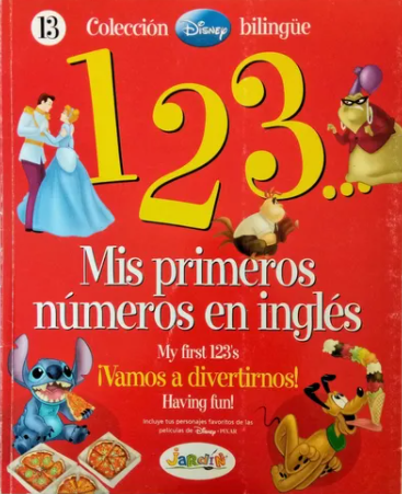 123 MIS PRIMEROS NÚMEROS EN INGLÉS 13