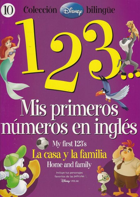 123 MIS PRIMEROS NÚMEROS EN INGLÉS  10