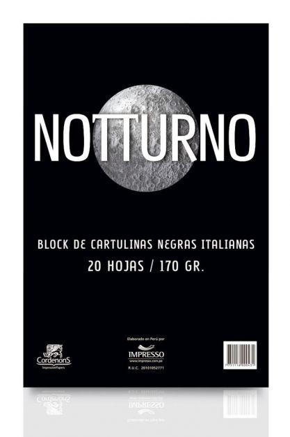 BLOCK NOTTURNO IMPRESSO X2O 23*33 170GR