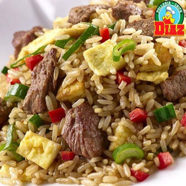 Chaufa de Carne - 300 gr de carne(lomo)