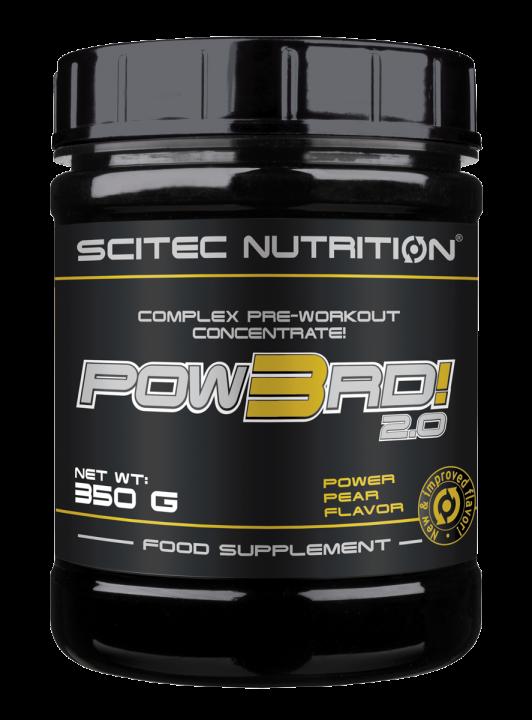 POW3RD! 350G Pear - SCITEC