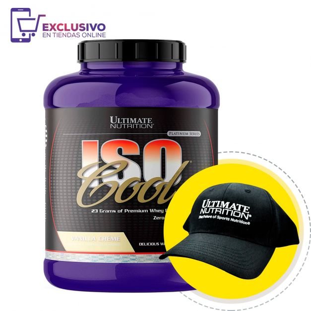Iso Cool 5 Lb + Gorra - Ultimate Nutrition