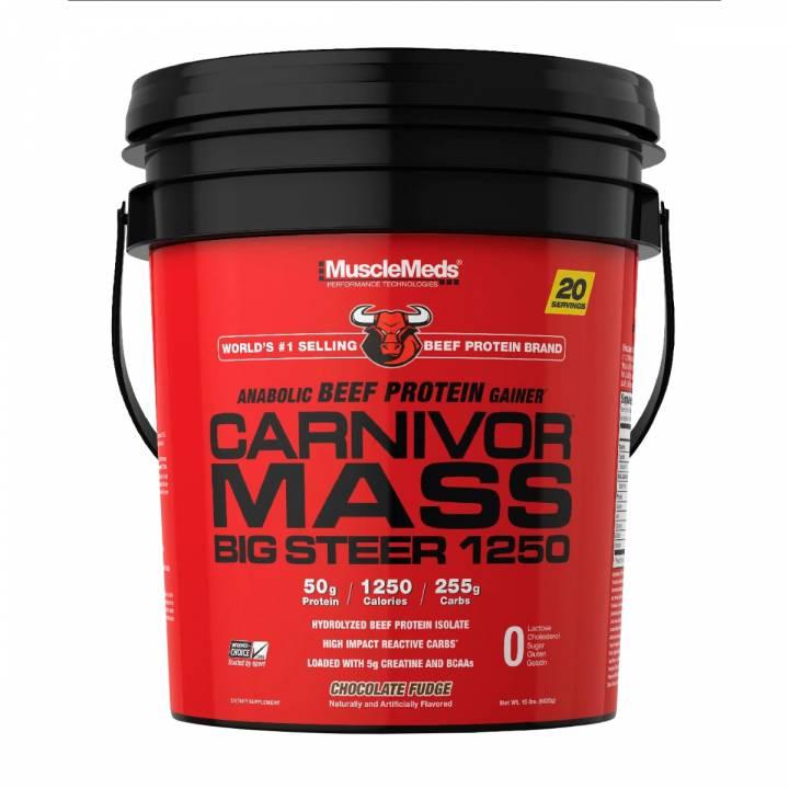 Carnivor Mass 15 Lb Chocolate Fudge - Musclemeds