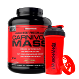 Carnivor Mass 5 Lb + Shaker - Musclemeds