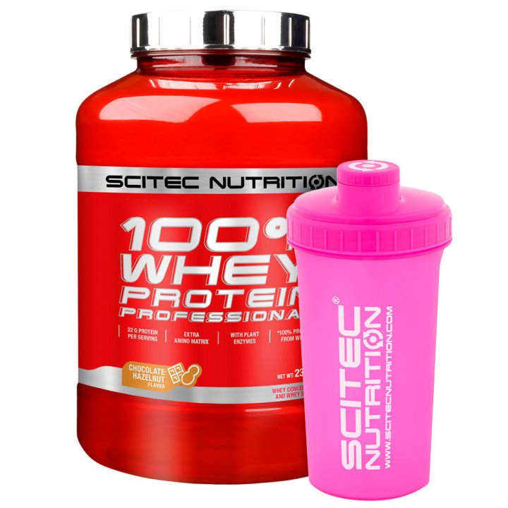 100% Whey Protein Professional 2350G - SCITEC
