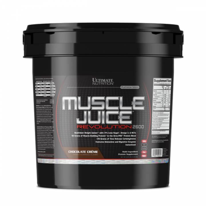 Muscle Juice Revolution 2600 11.10 Lb - Ultimate Nutrition