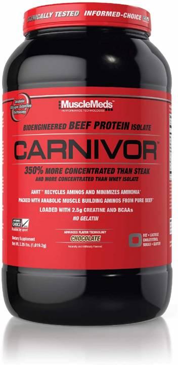 Carnivor 2.25 Lb Chocolate - Musclemeds