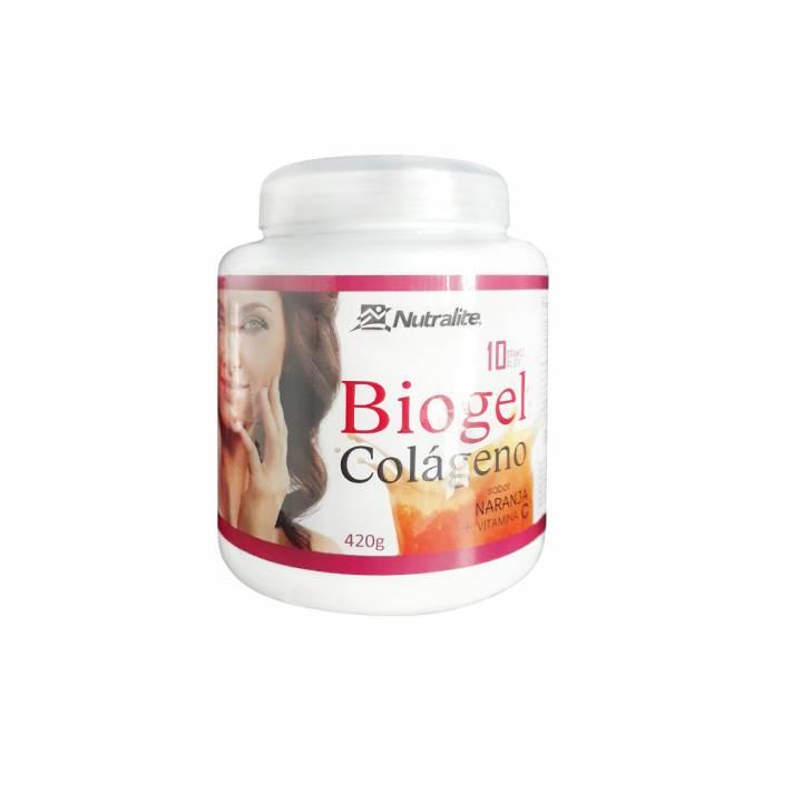 Biogel Colágeno Naranja + Vit.C 420G -  Nutralite